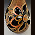 A gourd called Awakening made by Ivy Howard.
